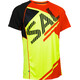 Salming Bold Print Tee Men Yellow/Orange